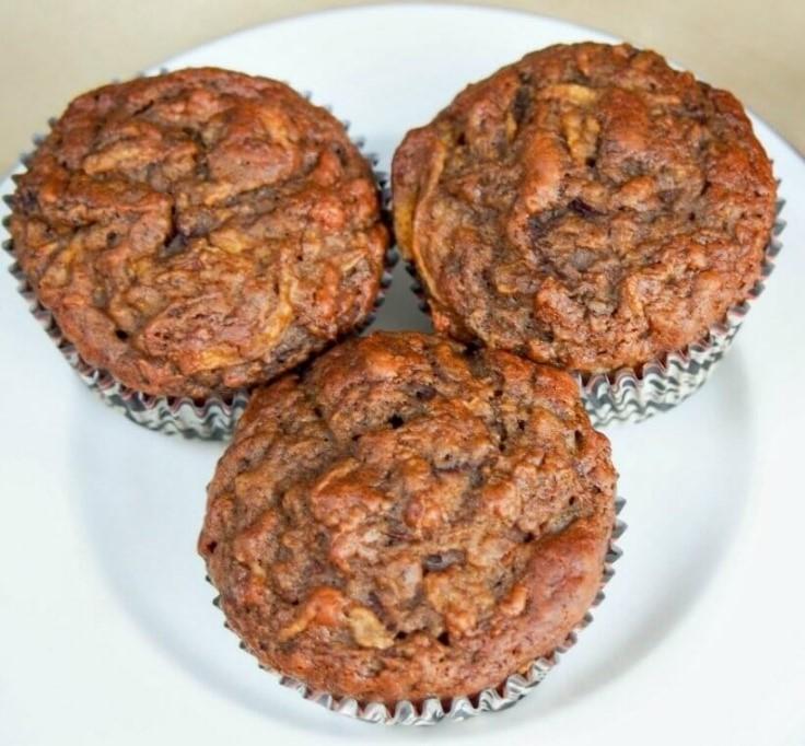 Muffin con zucca e banana
